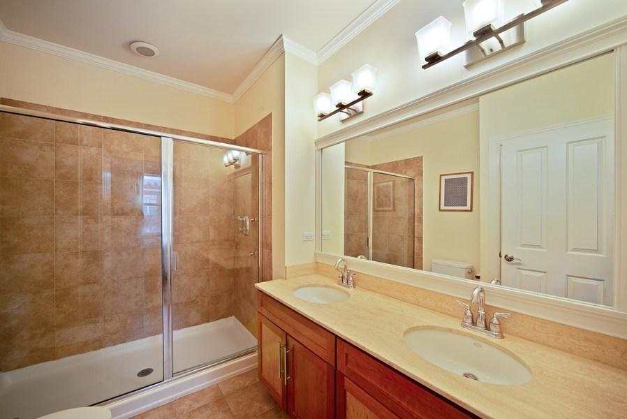 Real Estate Photography - 2717 W. Dakin, Chicago, IL, 60618 - Master Bathroom