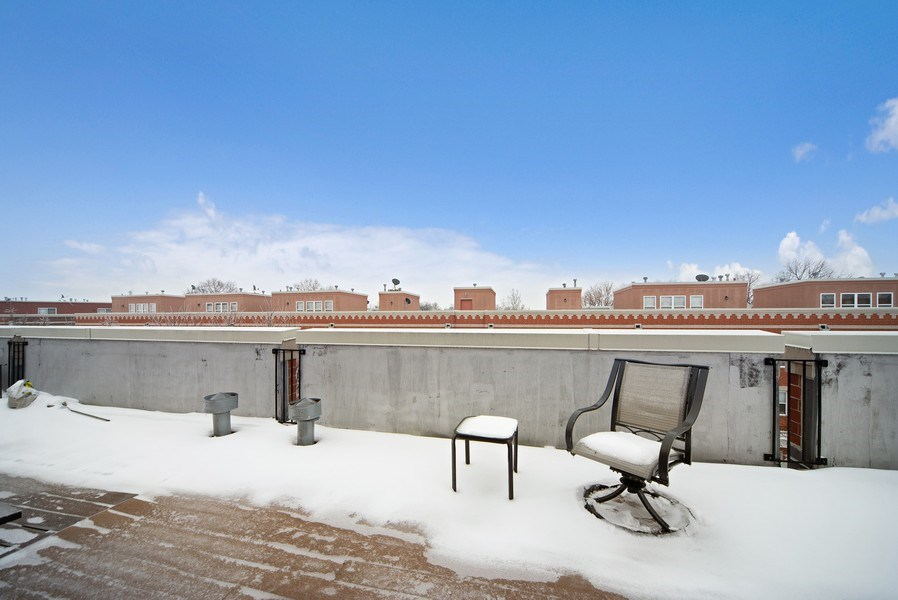 Real Estate Photography - 2717 W. Dakin, Chicago, IL, 60618 - Roof Deck