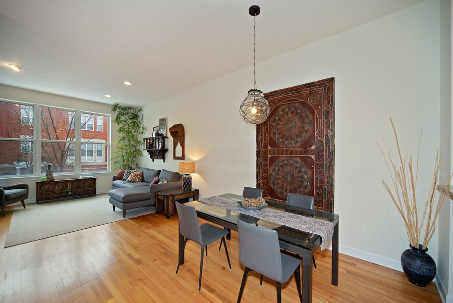 Real Estate Photography - 2717 W. Dakin, Chicago, IL, 60618 - Living Areas