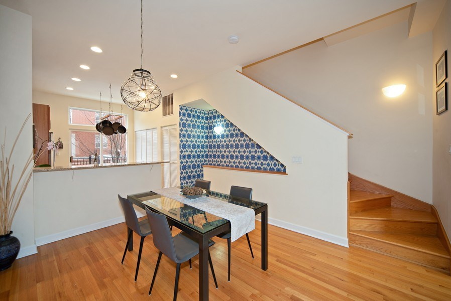 Real Estate Photography - 2717 W. Dakin, Chicago, IL, 60618 - Dining Area