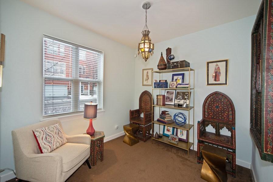 Real Estate Photography - 2717 W. Dakin, Chicago, IL, 60618 - Den/Family Room