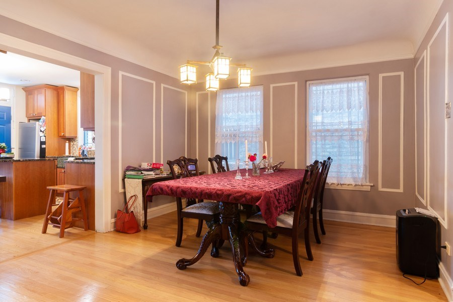 Real Estate Photography - 3537 N Racine Ave, Chicago, IL, 60657 - Dining Room