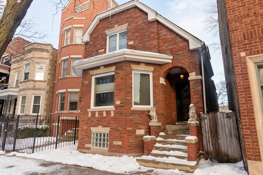 Real Estate Photography - 3537 N Racine Ave, Chicago, IL, 60657 - Front View