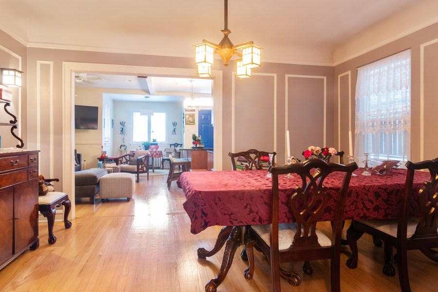 Real Estate Photography - 3537 N Racine Ave, Chicago, IL, 60657 - Family Room / Dining Room
