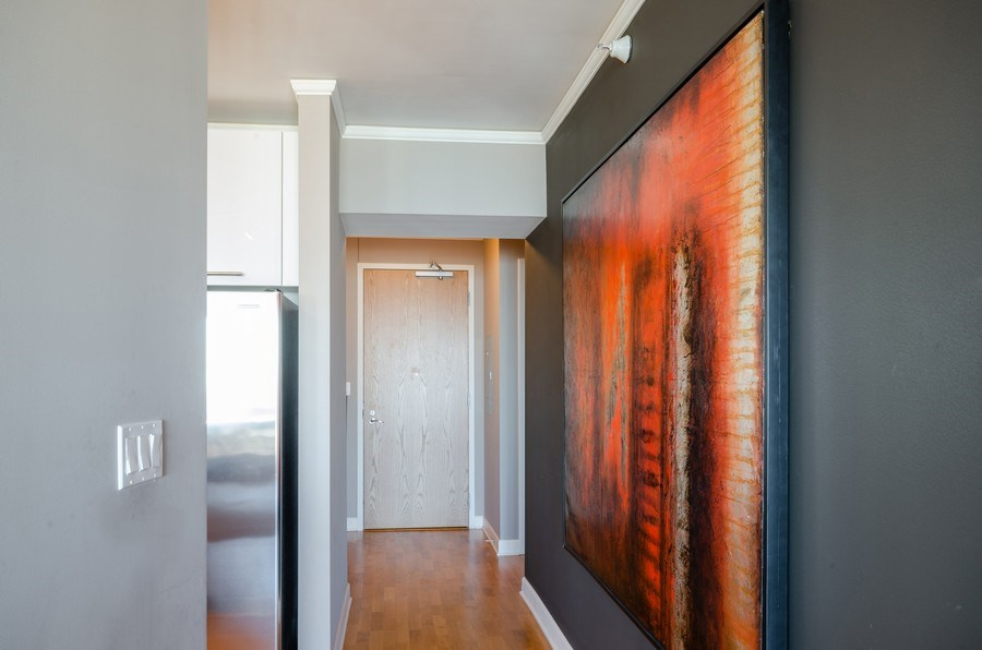 Real Estate Photography - 225 N Columbus, Unit 5804, Chicago, IL, 60601 - Hallway