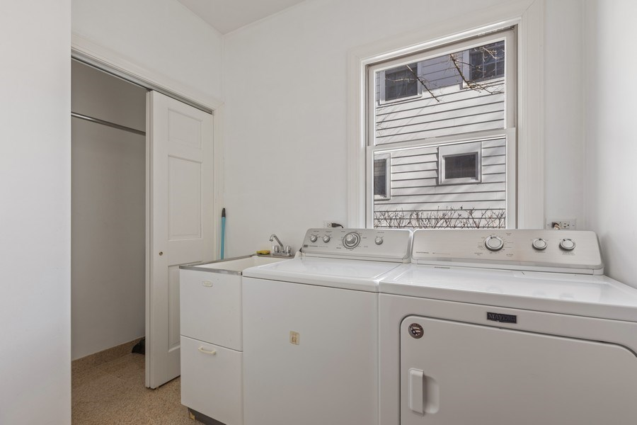 Real Estate Photography - 847 Ash, Winnetka, IL, 60093 - Laundry Room