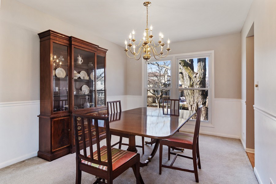 Real Estate Photography - 2308 N Evergreen, Arlington Heights, IL, 60004 - Dining Room