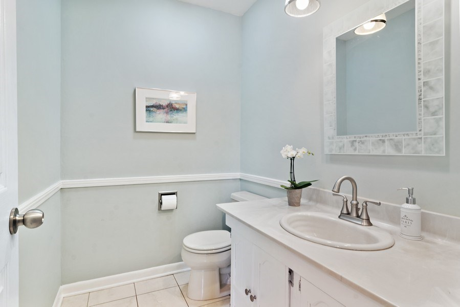 Real Estate Photography - 2308 N Evergreen, Arlington Heights, IL, 60004 - Half Bath