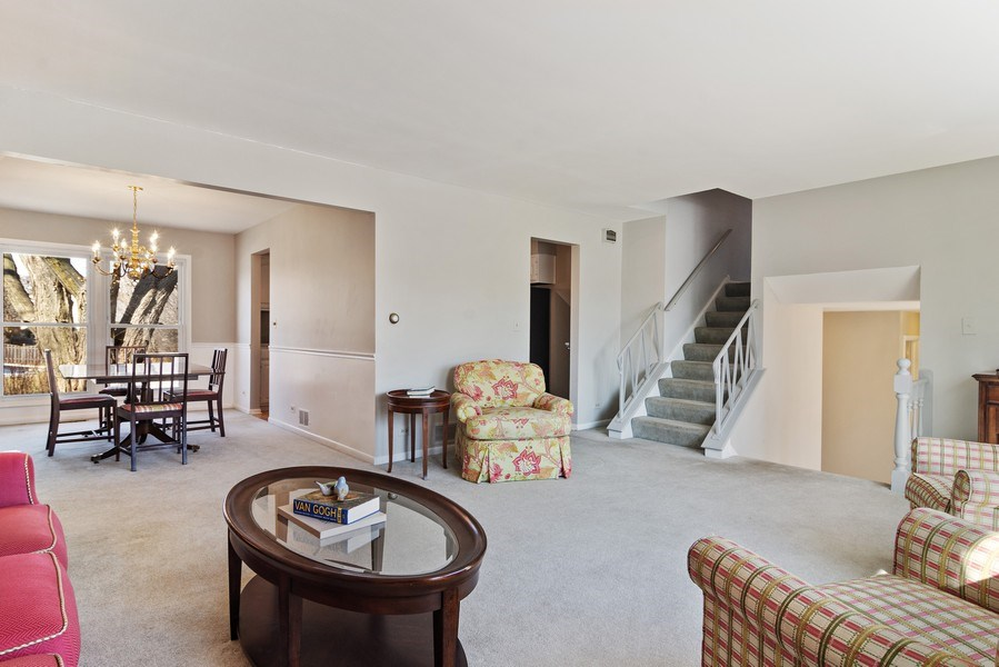 Real Estate Photography - 2308 N Evergreen, Arlington Heights, IL, 60004 - Living Room / Dining Room