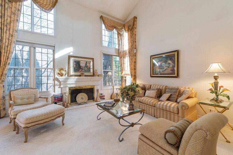 Real Estate Photography - 144 Fairway Drive, La Grange, IL, 60525 - Living Room