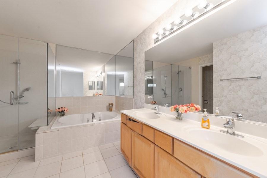 Real Estate Photography - 144 Fairway Drive, La Grange, IL, 60525 - Master Bathroom