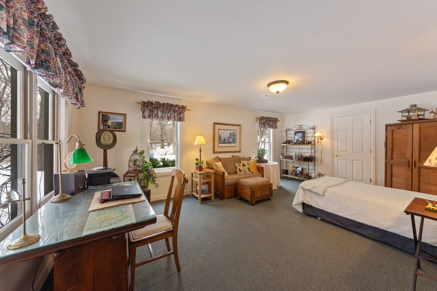 Real Estate Photography - 1 Burning Oak Trail, Barrington Hills, IL, 60010 - 5th Bedroom