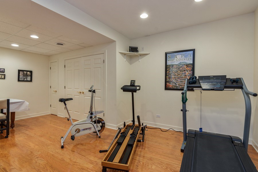 Real Estate Photography - 1 Burning Oak Trail, Barrington Hills, IL, 60010 - Exercise Room