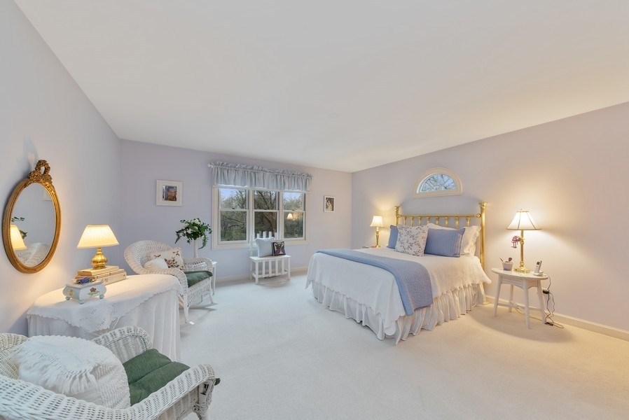 Real Estate Photography - 1 Burning Oak Trail, Barrington Hills, IL, 60010 - 2nd Bedroom