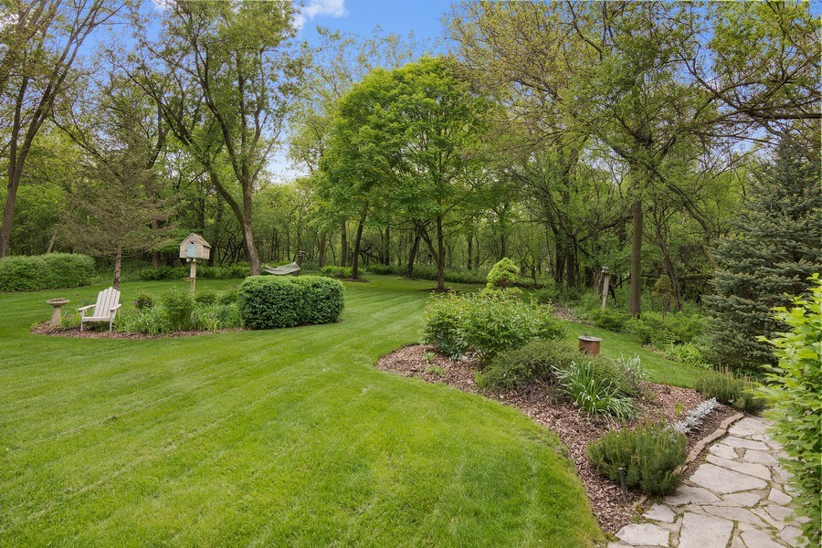 Real Estate Photography - 1 Burning Oak Trail, Barrington Hills, IL, 60010 - Back Yard