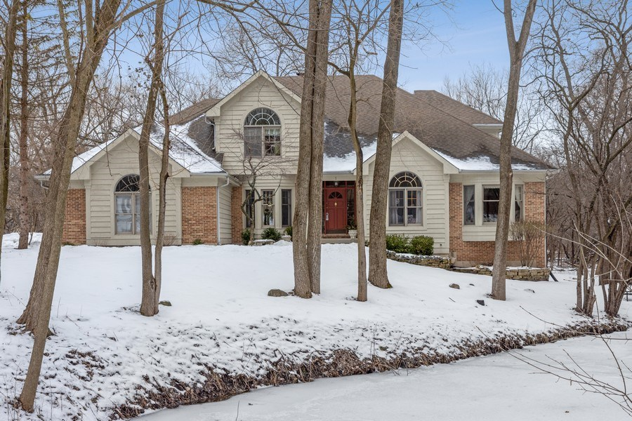 Real Estate Photography - 1 Burning Oak Trail, Barrington Hills, IL, 60010 - Front View