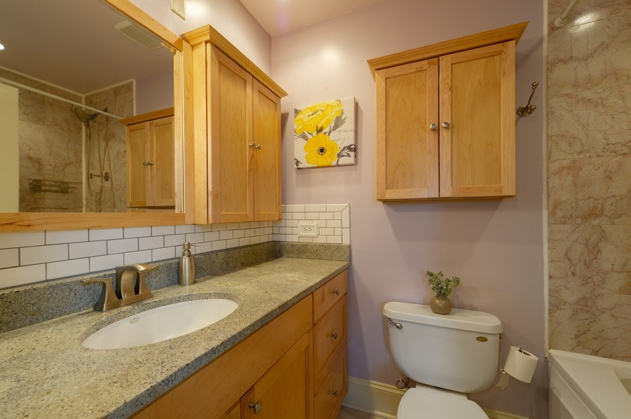 Real Estate Photography - 7633 N Greenview, 3W, Chicago, IL, 60626 - Master Bathroom