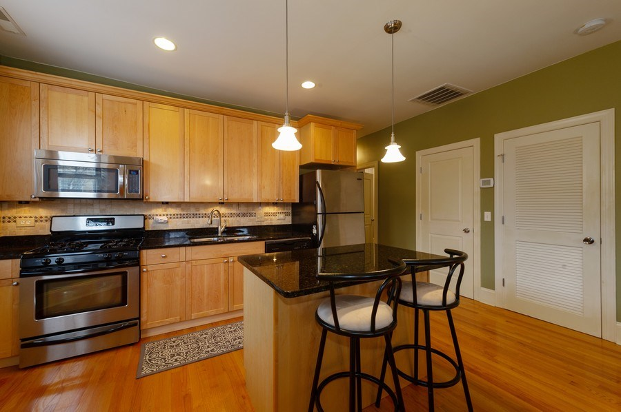 Real Estate Photography - 7633 N Greenview, 3W, Chicago, IL, 60626 - Kitchen / Breakfast Room