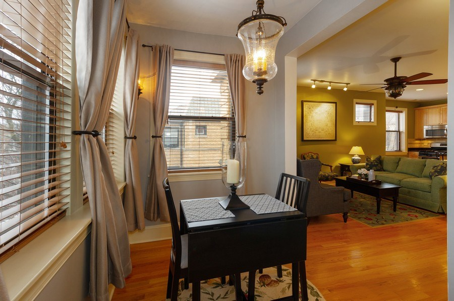Real Estate Photography - 7633 N Greenview, 3W, Chicago, IL, 60626 - Sun Room