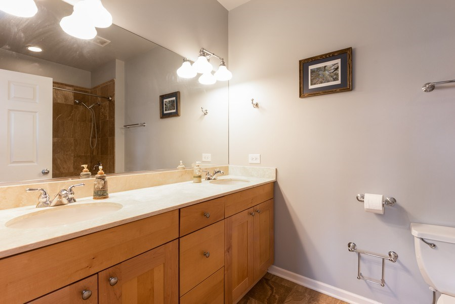 Real Estate Photography - 4704 N Kenmore Avenue 3A, Chicago, IL, 60640 - Master Bathroom