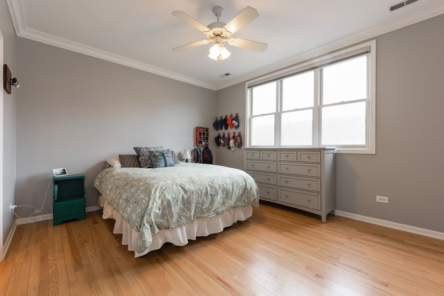 Real Estate Photography - 4704 N Kenmore Avenue 3A, Chicago, IL, 60640 - Master Bedroom