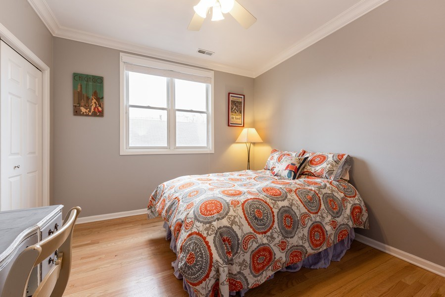 Real Estate Photography - 4704 N Kenmore Avenue 3A, Chicago, IL, 60640 - 2nd Bedroom