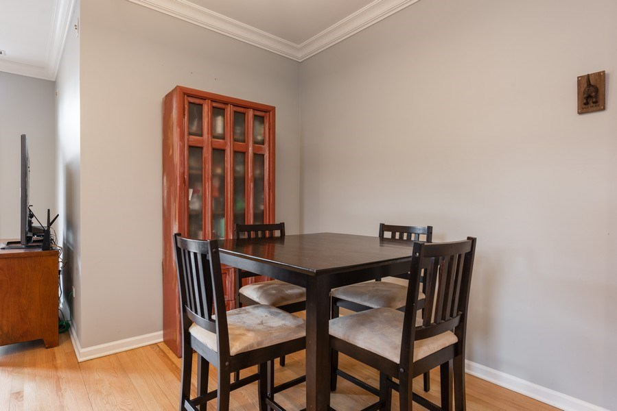 Real Estate Photography - 4704 N Kenmore Avenue 3A, Chicago, IL, 60640 - Dining Area