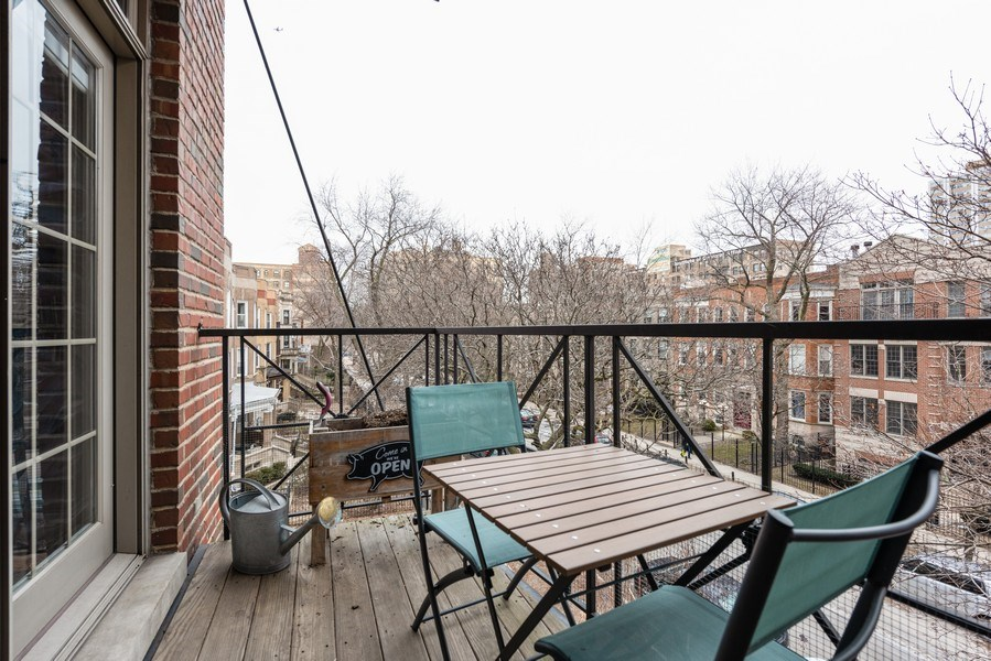 Real Estate Photography - 4704 N Kenmore Avenue 3A, Chicago, IL, 60640 - Balcony