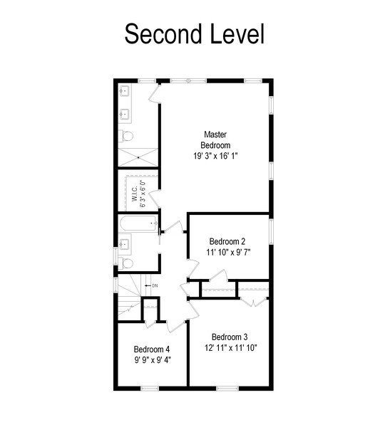Real Estate Photography - 6041 N St Louis Ave, Chicago, IL, 60659 - Floor Plan