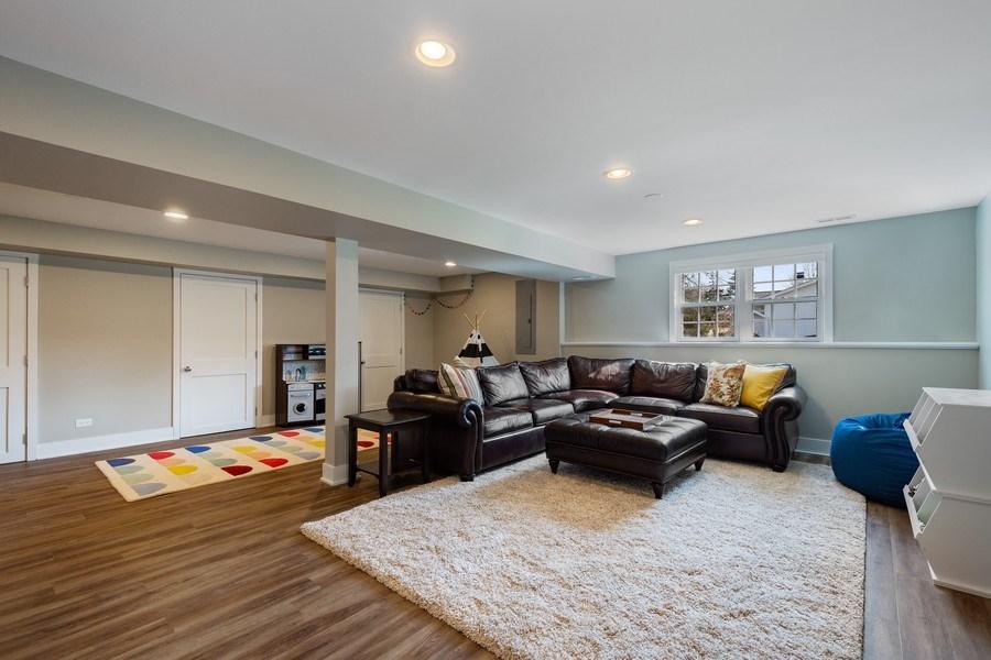 Real Estate Photography - 1202 Prairie Ave, Barrington, IL, 60010 - Recreation Room & Playroom