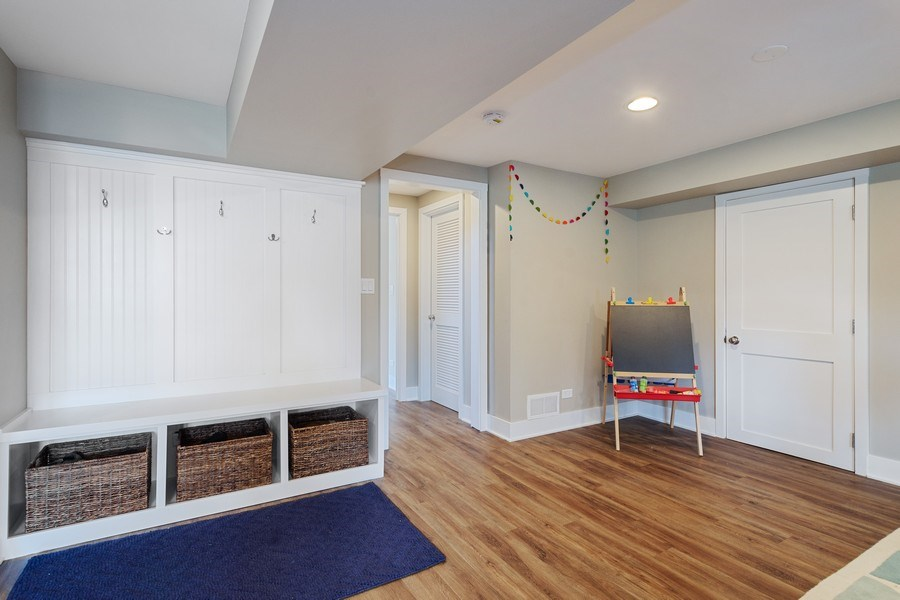 Real Estate Photography - 1202 Prairie Ave, Barrington, IL, 60010 - Recreation Room Mudroom Area