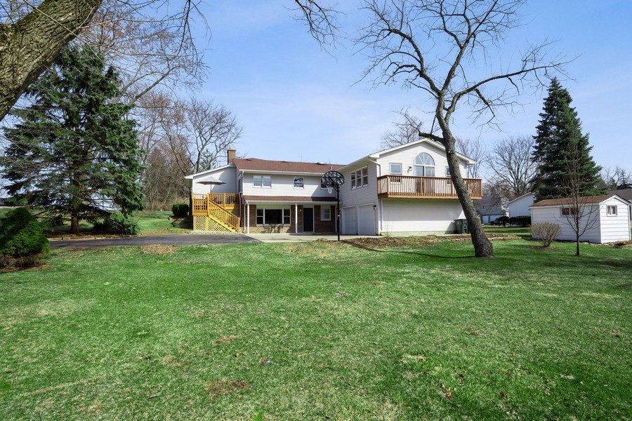 Real Estate Photography - 1202 Prairie Ave, Barrington, IL, 60010 - Rear View