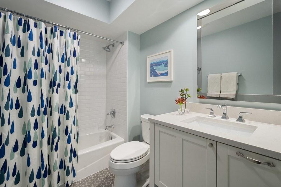 Real Estate Photography - 1202 Prairie Ave, Barrington, IL, 60010 - Hallway Bathroom