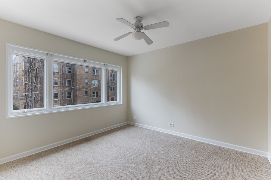 Real Estate Photography - 2535 Asbury Ct, Evanston, IL, 60201 - 2nd Bedroom