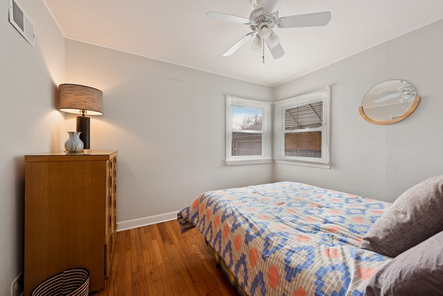 Real Estate Photography - 3210 Colfax St, Evanston, IL, 60201 - 2nd Bedroom