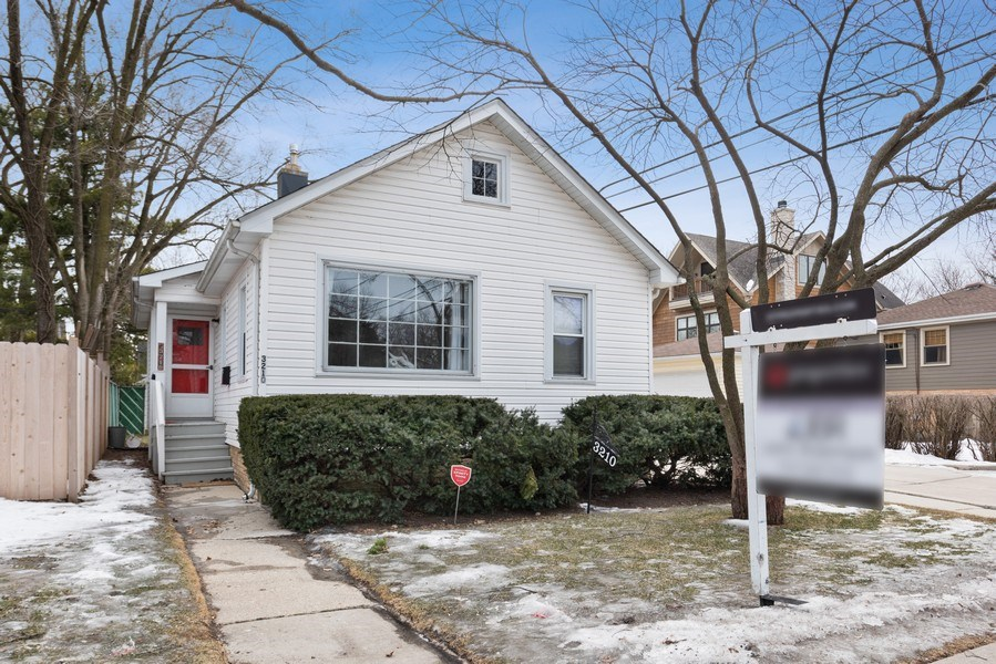 Real Estate Photography - 3210 Colfax St, Evanston, IL, 60201 - Front View