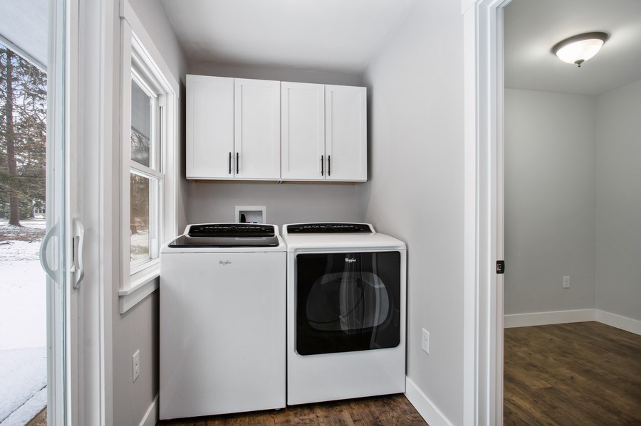 Real Estate Photography - 12257 Linden Ave, Sawyer, MI, 49125 - Laundry Room