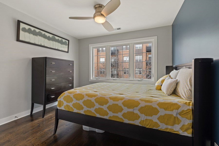 Real Estate Photography - 2917 N Hoyne, Chicago, IL, 60618 - 3rd Bedroom
