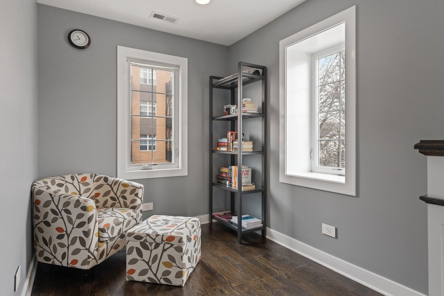 Real Estate Photography - 2917 N Hoyne, Chicago, IL, 60618 - Sitting Room