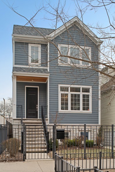 Real Estate Photography - 2917 N Hoyne, Chicago, IL, 60618 - Front View