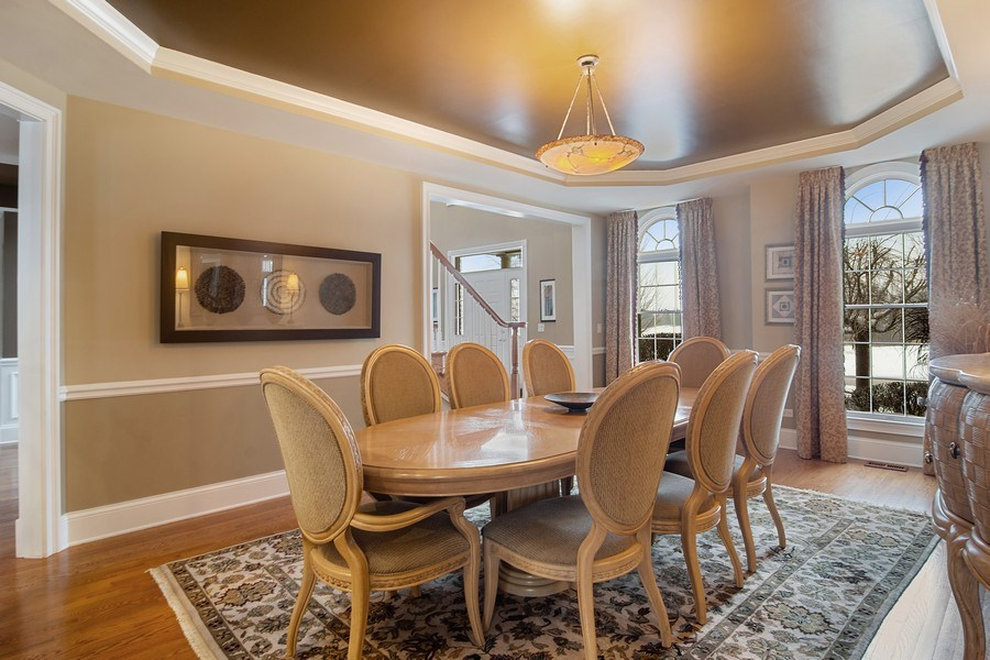 Real Estate Photography - 23 Briar Creek Dr., Hawthorn Woods, IL, 60047 - Dining Area