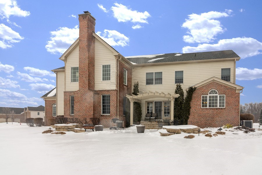 Real Estate Photography - 23 Briar Creek Dr., Hawthorn Woods, IL, 60047 - Rear View