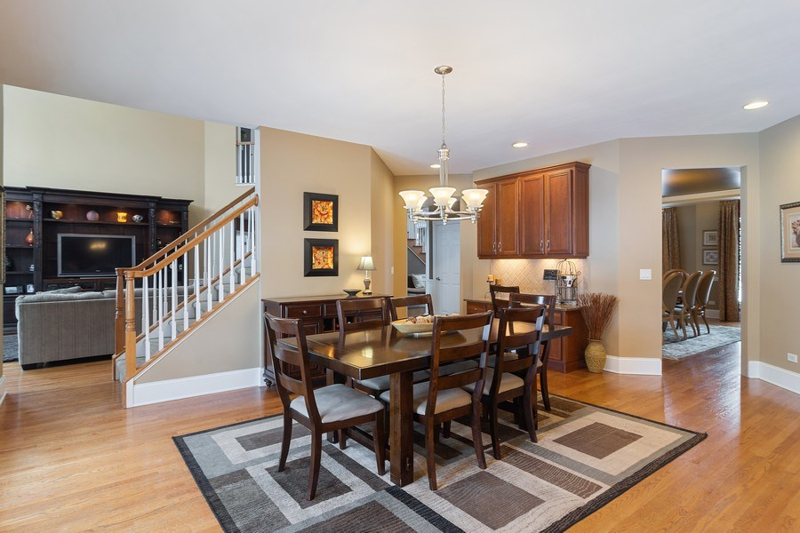 Real Estate Photography - 23 Briar Creek Dr., Hawthorn Woods, IL, 60047 - Kitchen / Dining Room