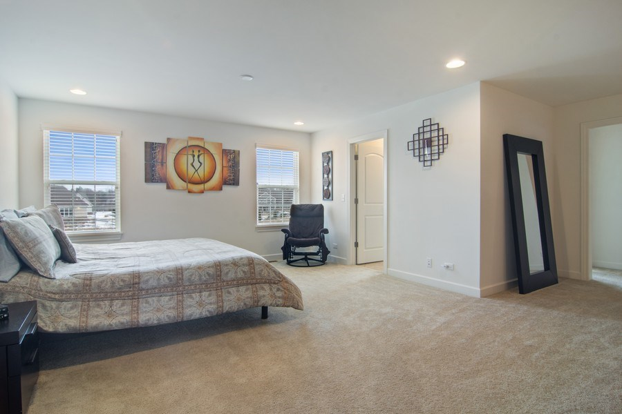 Real Estate Photography - 23610 N Sanctuary Club Dr., Kildeer, IL, 60047 - Master Bedroom