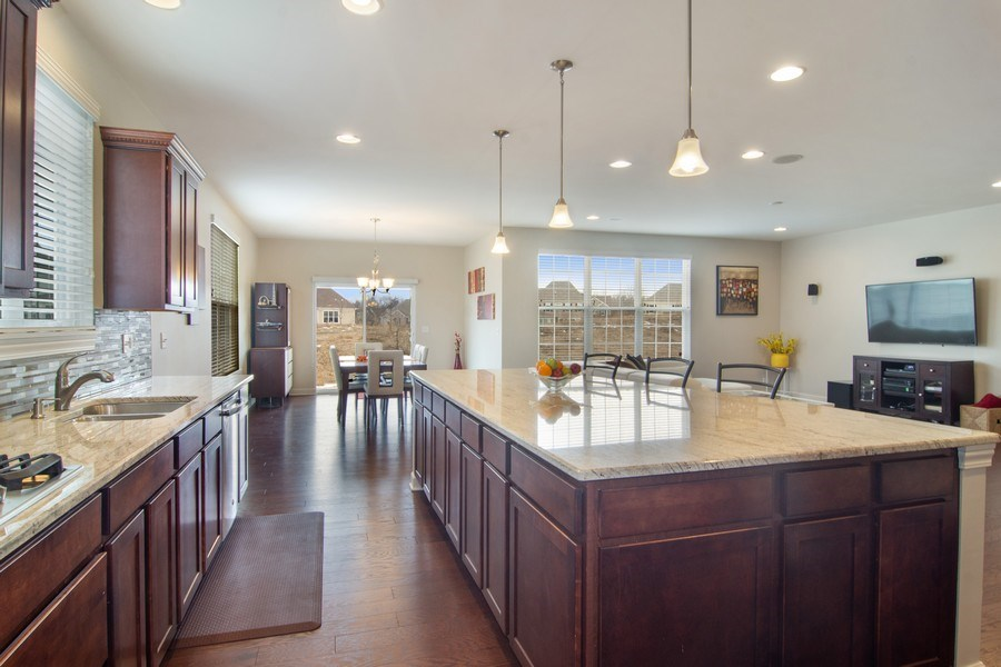 Real Estate Photography - 23610 N Sanctuary Club Dr., Kildeer, IL, 60047 - Kitchen