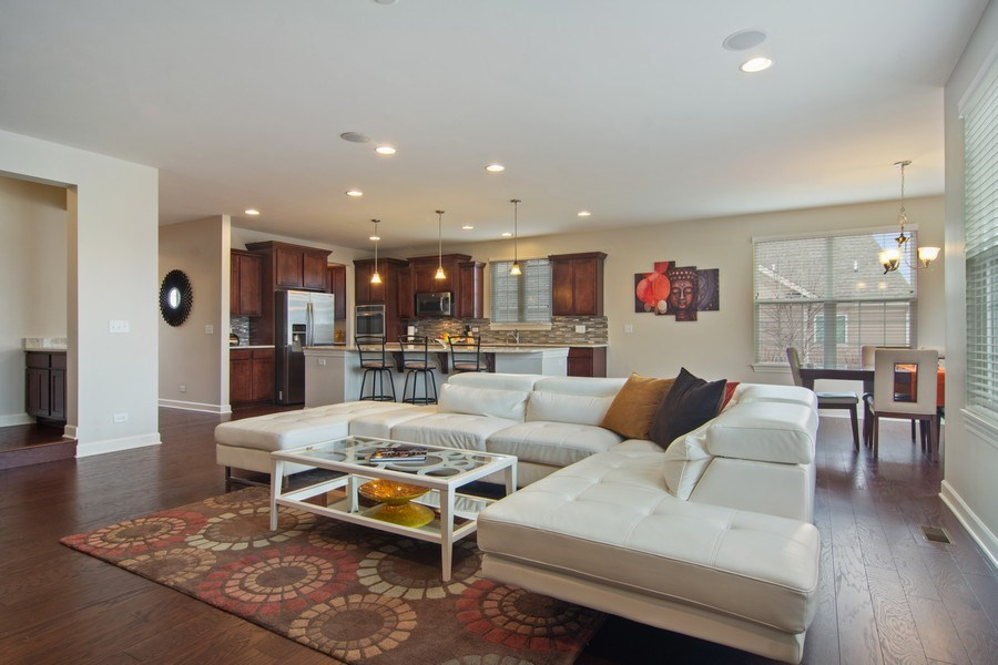 Real Estate Photography - 23610 N Sanctuary Club Dr., Kildeer, IL, 60047 - Family Room