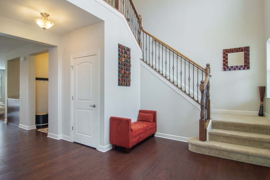 Real Estate Photography - 23610 N Sanctuary Club Dr., Kildeer, IL, 60047 - Foyer