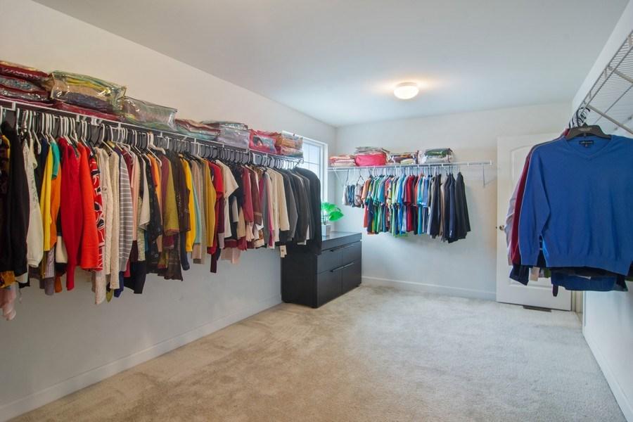Real Estate Photography - 23610 N Sanctuary Club Dr., Kildeer, IL, 60047 - Master Bedroom Closet
