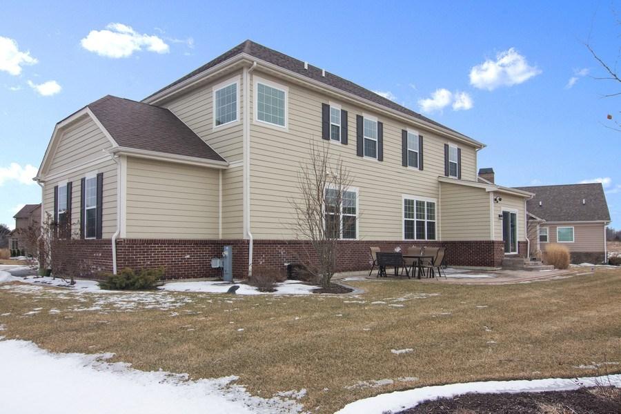 Real Estate Photography - 23610 N Sanctuary Club Dr., Kildeer, IL, 60047 - Side View