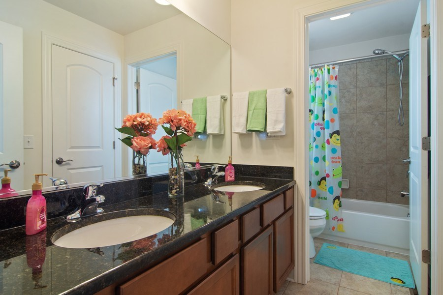 Real Estate Photography - 23610 N Sanctuary Club Dr., Kildeer, IL, 60047 - 2nd Bathroom